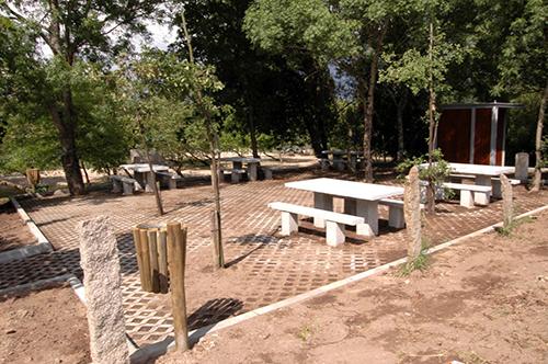 Área de Apoio da Ecopista – Zona de Interpretativa da Foz do Rio Manco